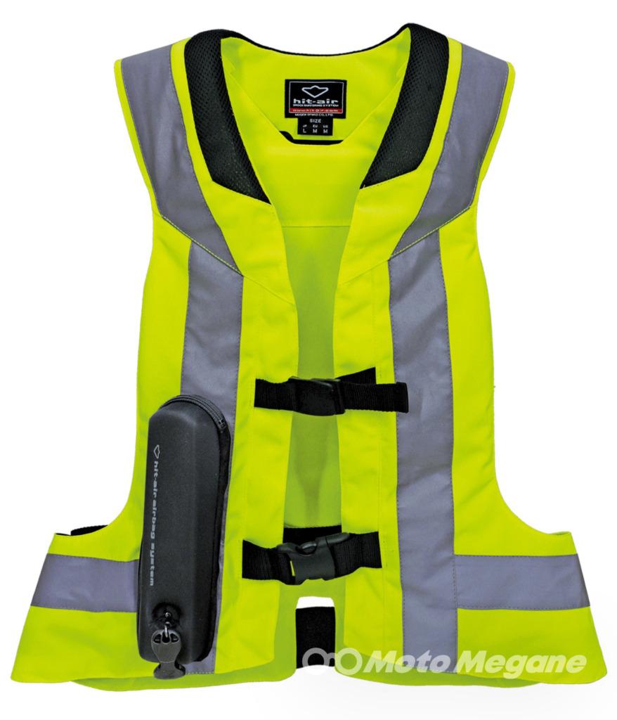 無限電光hit-airエアバッグジャケットSTモデルの写真