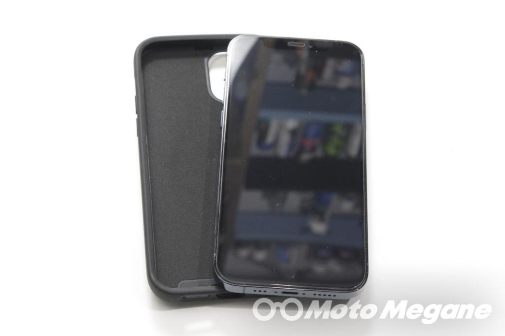 Quad Lock HANDLEBAR MOUNT V2 & 衝撃吸収ダンパーQLA-VDM & CASE FOR IPHONE12/12PROの写真