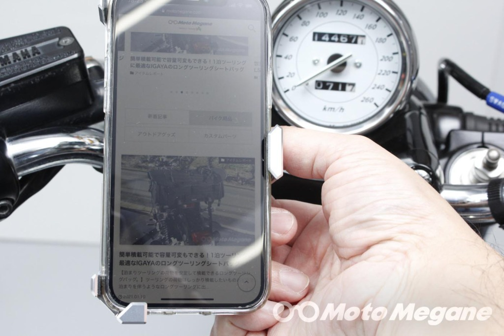SYGN HOUSE MOUNT SYSTEM ABC-6 Smart Phone 汎用ホルダーセット4の写真