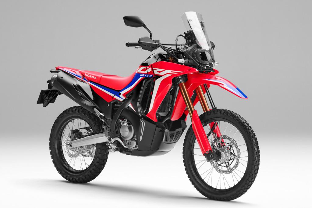2021年登場の新型CRF250ラリー