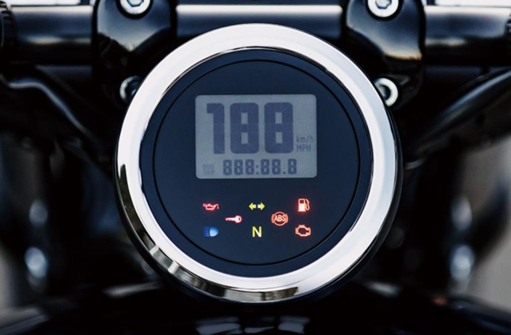 BOLT Rスペック ABS 2021年モデル メーターパネル