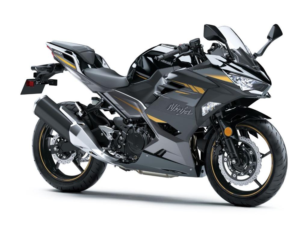 Ninja 400 メタリックマグネティックダークグレー×メタリックスパークブラック