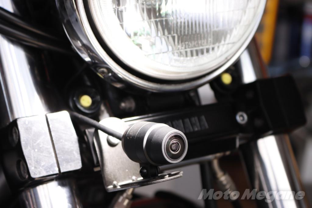 ミツバサンコーワのバイク専用ドライブレコーダーEDR-21Gα